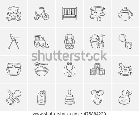 bodysuit sketch icon stock photo © rastudio