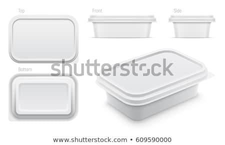 Margarine in plastic packaging Stock photo © magraphics