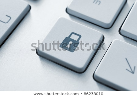 keyboard security key stock photo © oakozhan