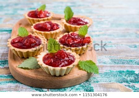 jam tartlets stock photo © digifoodstock
