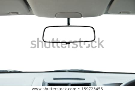rear view mirror and dashboard stock photo © ssuaphoto