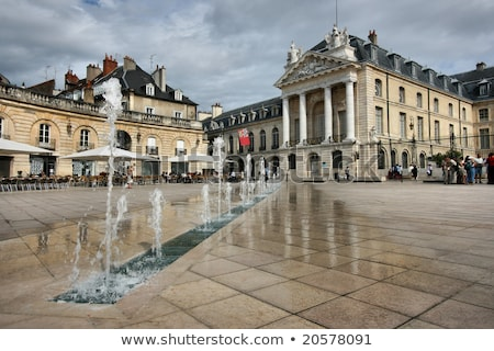 Place de la Liberation, Dijon in France Stock photo © LianeM