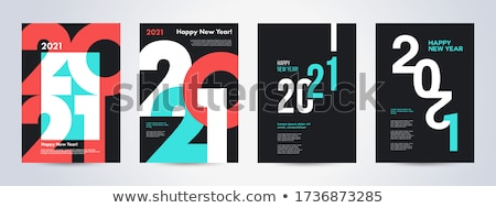 Happy New Year Flat Design 101