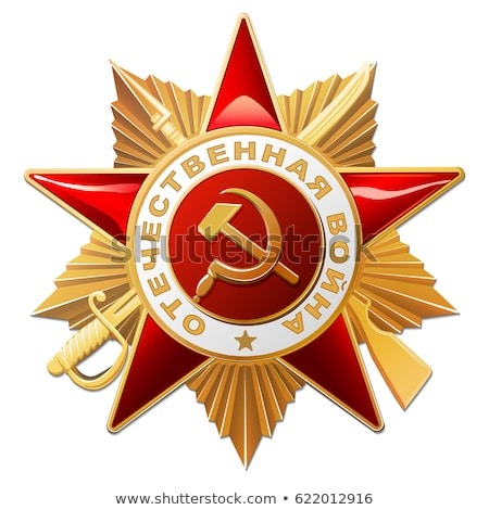 Soviet Red Army badge Stock photo © sahua