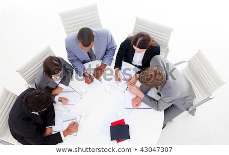 Diverso sessão em torno de conferência Foto stock © wavebreak_media