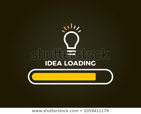 Idea Loading Bar Concept Stock photo © ivelin