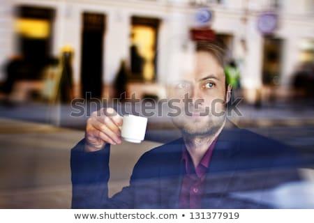 コーヒーブレイク オフィス 作業 女性 手 ストックフォト © stevanovicigor
