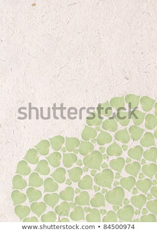 healthy heart of paper and healthy life style symbols stock photo © tefi