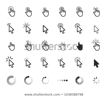 set of vector cursor icon stock photo © ordogz