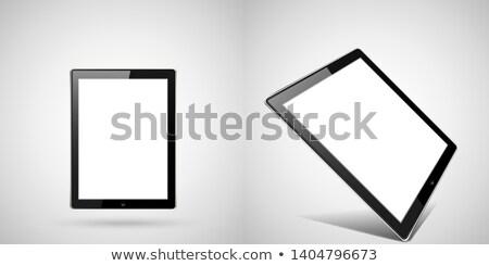 ジェネリック タブレット 観点 現代 孤立した 白 ストックフォト © albund