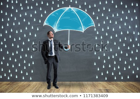 Chalkboard on the Office Wall with Crisis Concept. Stock photo © tashatuvango