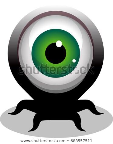 Grande occhi raccapricciante Foto d'archivio © Melvin07