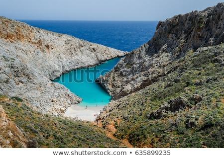 Schoonheid landschappen eiland traditioneel Grieks landschap Stockfoto © Freesurf