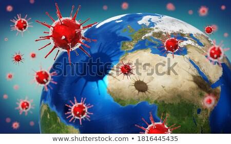 diagnóstico · neuropatia · medicina · ilustração · 3d · azul · turva - foto stock © tashatuvango