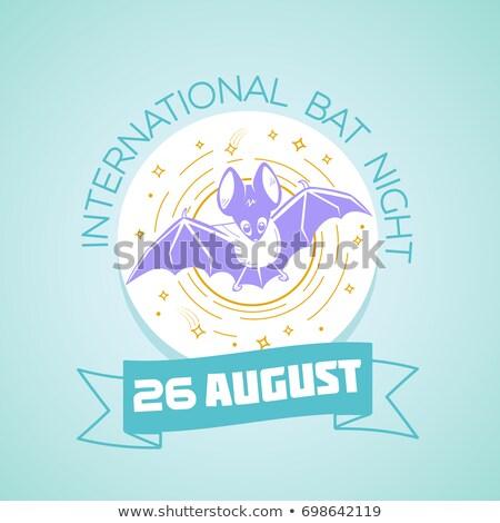 26 agosto internazionali bat notte calendario Foto d'archivio © Olena