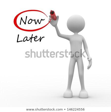 agir · agora · vermelho · botão · palavras · negócio - foto stock © oakozhan