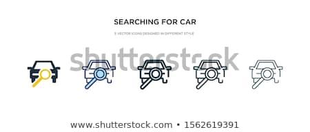 chave · ícone · estilo · vetor · simples · ilustração - foto stock © sidmay