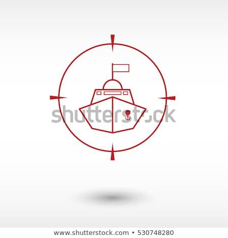 katonaság · éles · illusztráció · kettő · tele · szín - stock fotó © jeff_hobrath