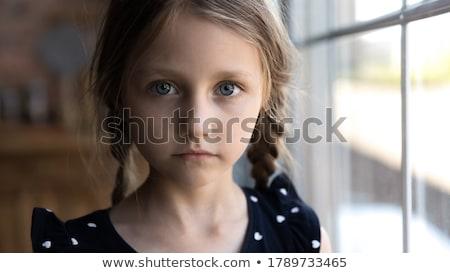 Psychologia dziecko depresji dzieciństwo żal dziecko Zdjęcia stock © Lightsource