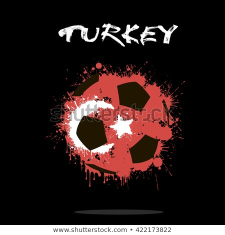 abstract grunge soccer league tournament background Stock photo © SArts