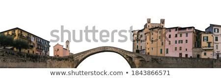 パノラマ · 城 · 橋 · 景観 · ロマンチックな - ストックフォト © walmor_