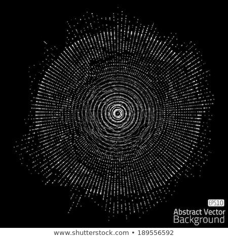 Foto stock: Superfície · rede · abstrato · digital · 3d · render · ilustração