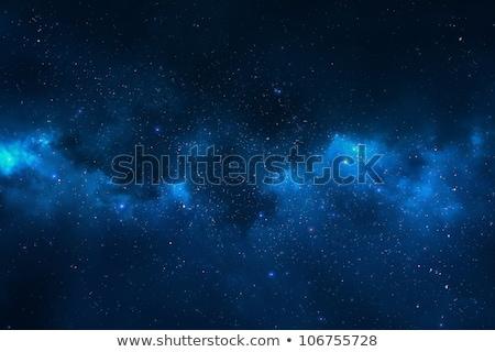 Stock photo: Universe filled with stars, nebula and galaxy.