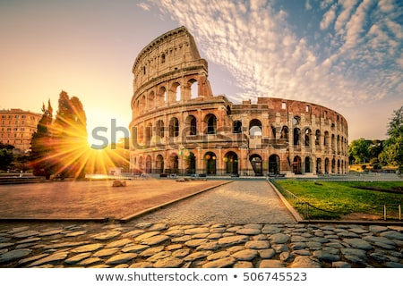 Ancient building of Rome Stock photo © Givaga