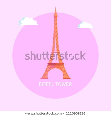 Gorgeous Eiffel Tower from Paris Made of Metal Stock photo © robuart