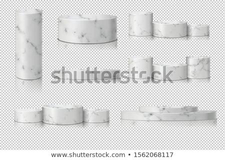 fehér · termék · bemutató · pódium · színpad · üres - stock fotó © andrei_