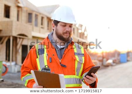 ビジネスマン · スマートフォン · ビジネス · 建物 · 男 · スマートフォン - ストックフォト © dolgachov