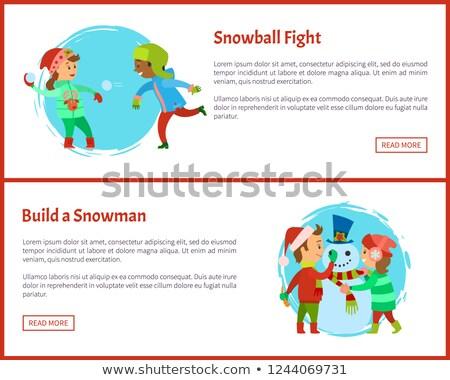 harcol · nagybácsi · kalap · vektor · rajz · kék - stock fotó © robuart