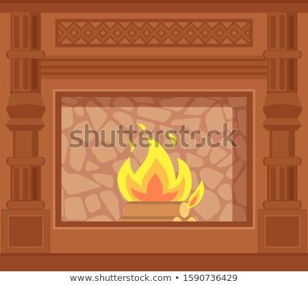 verwarming · illustratie · temperatuur · ruimte · vloer - stockfoto © robuart