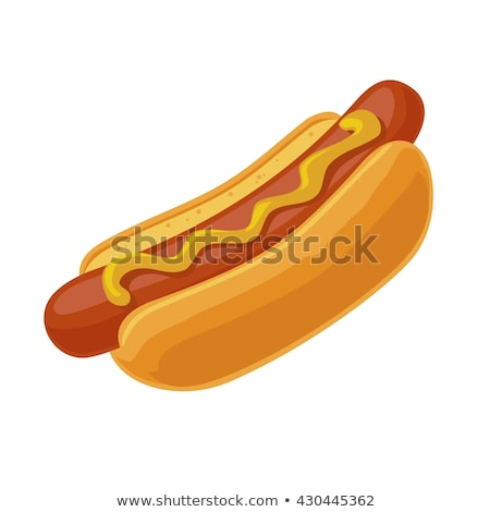 Hot dog worst posters ingesteld tekst Stockfoto © robuart