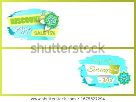 bahar · alışveriş · genç · yürüyüş · renkli - stok fotoğraf © robuart