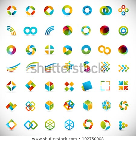 yellow business icons design stock photo © lemony