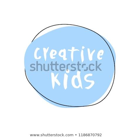 Art lessons concept vector illustration. Stock photo © RAStudio