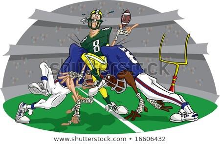 American Football Rush #7 Stock photo © robStock