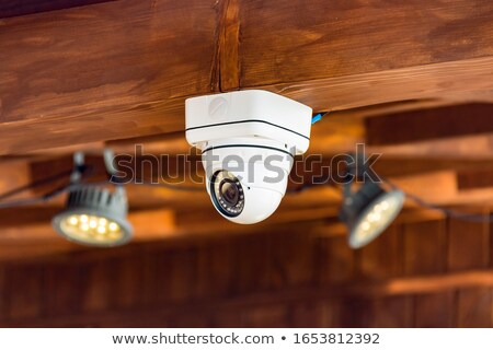 Close up on a ceiling mounted CCTV camera Stock photo © Giulio_Fornasar
