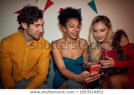 content young beautiful couple in casual outfit stock photo © pressmaster