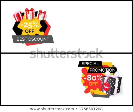 Best Discount on New Collection, Total Sale Ever Stock photo © robuart