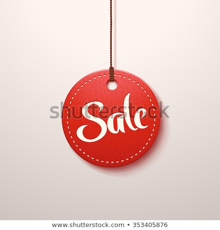 tag with discount and price colorful label vector stock photo © robuart