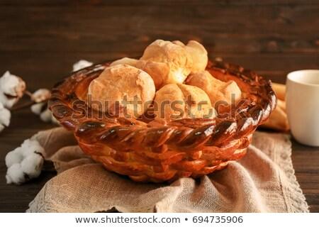 Savoureux chignon bois gâteau Photo stock © grafvision