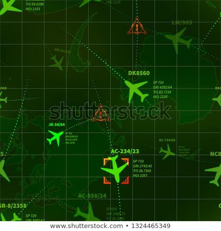 Dettagliato verde militari radar aerei target Foto d'archivio © evgeny89