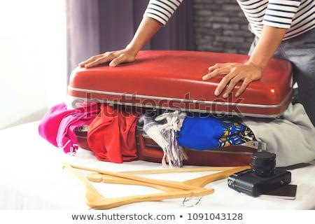 Podróży wakacje szczęścia kobieta ubrania Zdjęcia stock © Freedomz