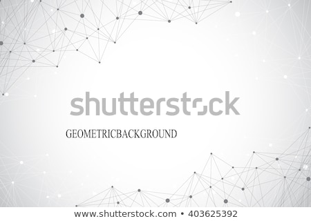 Resumen fractal caos líneas conexión diseno Foto stock © SArts