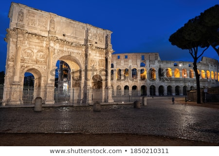 Piazza del Colosseo in Rome, Italy Stock photo © vladacanon