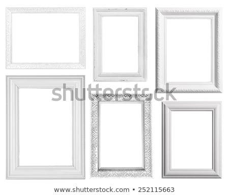 frame · baguette · witte · papier · muur · abstract - stockfoto © Paha_L