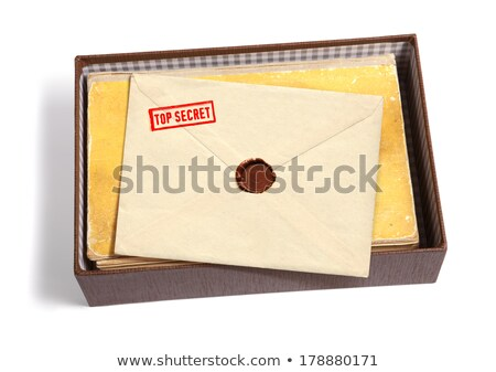 Stock photo: Top secret and other stamps