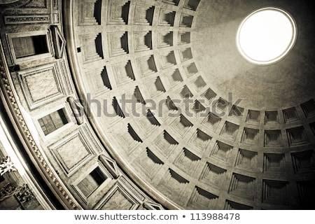 cupola inside of the Pantheon Stock photo © prill